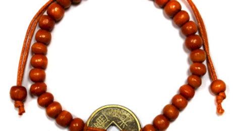 Orange Good Luck Feng-Shui Bracelets