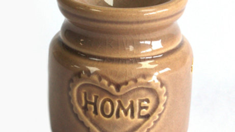 Grey Home Oil Burner