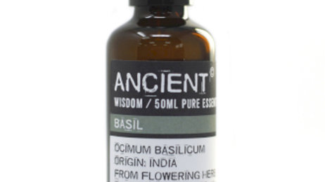 Basil 50ml Pure Essential Oil
