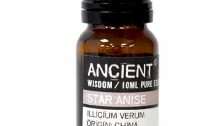 Aniseed China Star (Star Anise) Pure Essential Oil 10ml
