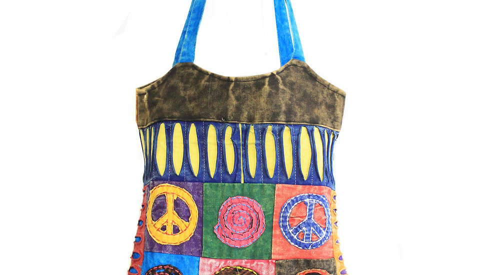 Classic Peace Skirt Bag