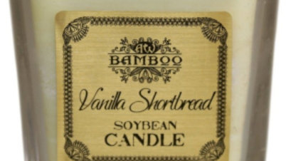 Vanilla Shortbread Soybean Jar Candle