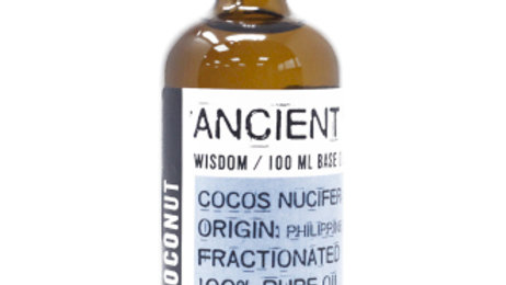 Fractionated Coconut Oil - 100ml