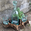 Thumbnail: Whisky Set Molten Glass on Wood