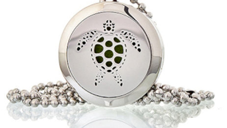 Turtle Aromatherapy Diffuser Necklace 25mm
