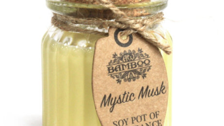 2x Mystic Musk Soy Pot of Fragrance Candles