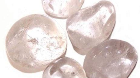 24 x Ice Quartz Large Tumble Stones
