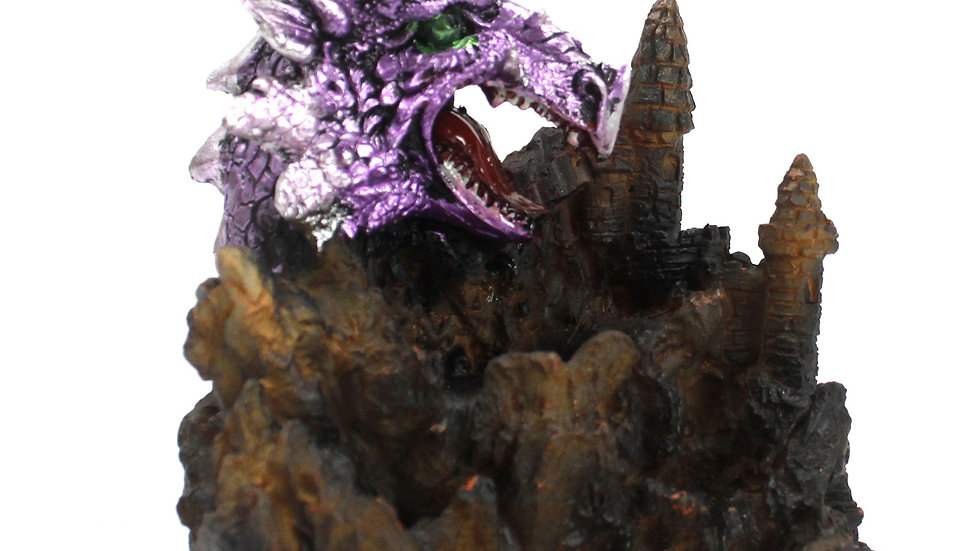 Purple Dragon LED Backflow Incense Burner