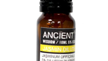 Jasmine Dilute 5 Percent Essential Oil 10ml