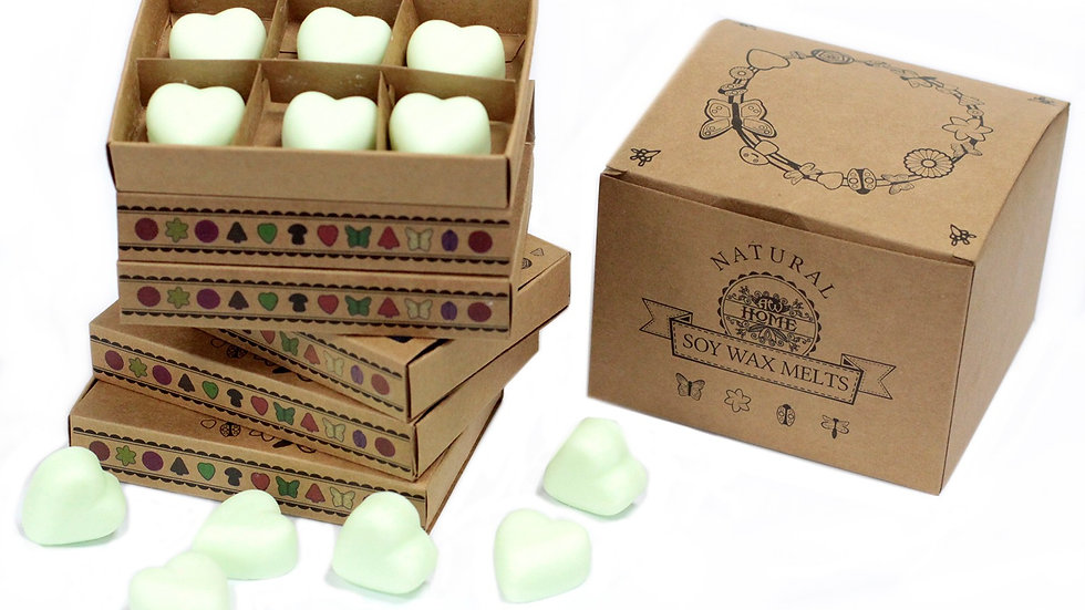 Mint and Menthol Box of 6 Wax Melts