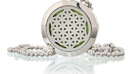 Flower of Life Aromatherapy Diffuser Necklace 25mm