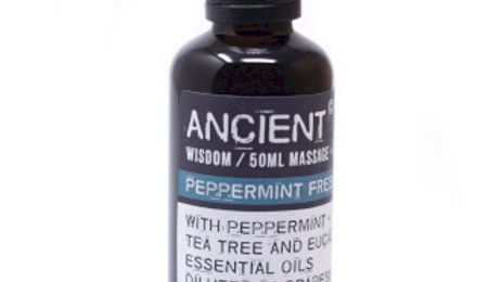 Peppermint Fresh Massage Oil - 50ml