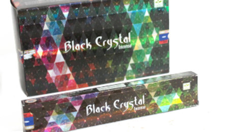 Satya Black Crystal Incense - 15gram