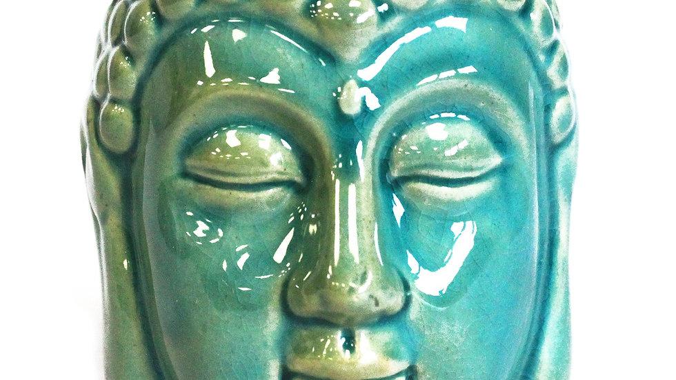 Buddha Oil Burner - Blue