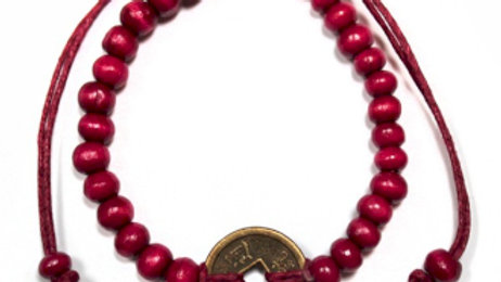 Red Good Luck Feng-Shui Bracelets