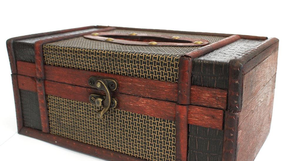 Large Tissue Box Trunk Style