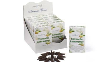 Stamford Citronella and Lemongrass Incense Cones