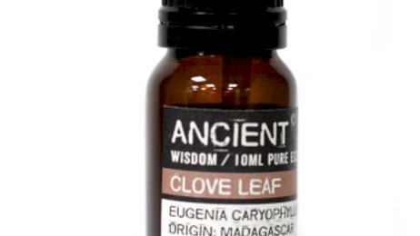 Clove Leaf Pure Essential Oil 10ml
