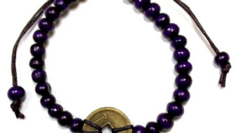 Purple Good Luck Feng-Shui Bracelets