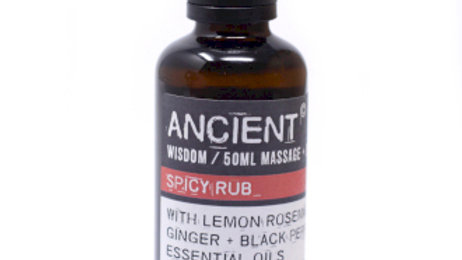 Spicy Rub Massage Oil - 50ml