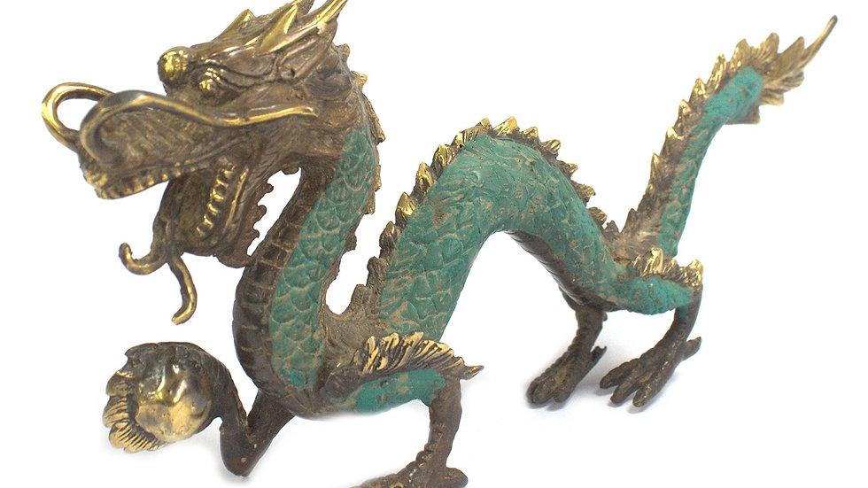 Fengshui - Medium Dragon with Ball - 27cm