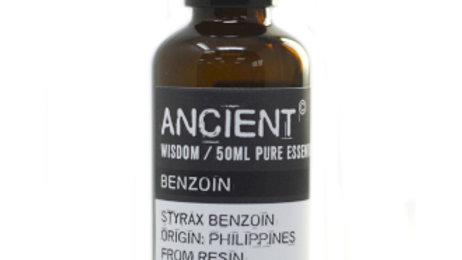 Benzoin (Dilute/Dpg) 50ml Pure Essential Oil
