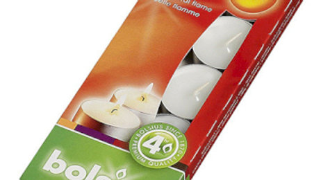 Box of 10 4hr Tealights