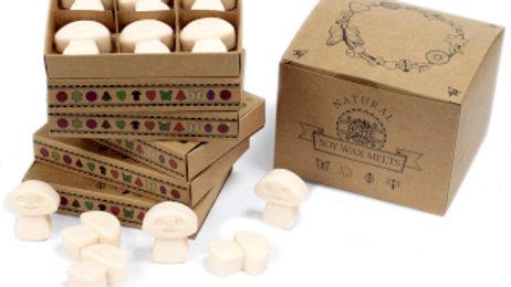 Vanilla Nutmeg Box of 6 Wax Melts