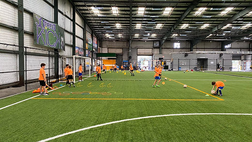 Free kick soccer camp