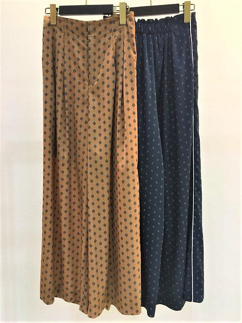 Fine Pattern Wide Pants  -FINAL SALE-