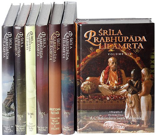 Srila Prabhupada Lilamrita (Complete set)