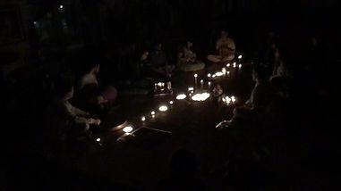 Une soirée de kirtan dans le cadre de l'Espace Bhakti.