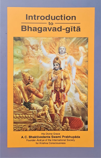 Introduction to Bhagavad-Gītā