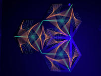 Hexagon 3 di StringArt Grillo