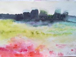 Senza titolo (acquerello 31x46) Mariella Musso
