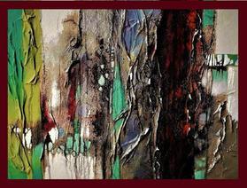 Radici (Tecnica Mista cartapesta applicata su pannello osb 45x60) Giuliano Mantovani