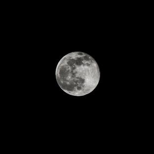 Silver Suffolk Moon
