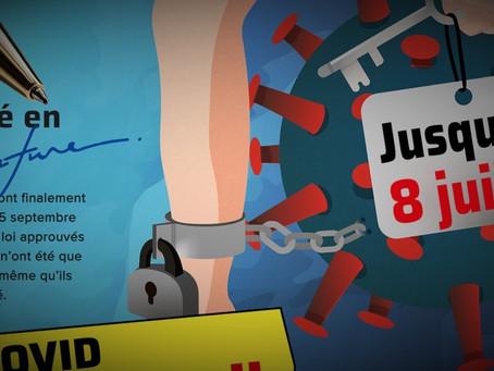 Mobilisation éclair anti-Loi Covid, le signe d'une démocratie qui fonctionne?