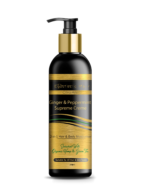 Ginger & Peppermint Supreme Creme - Body Moisturiser 200ml