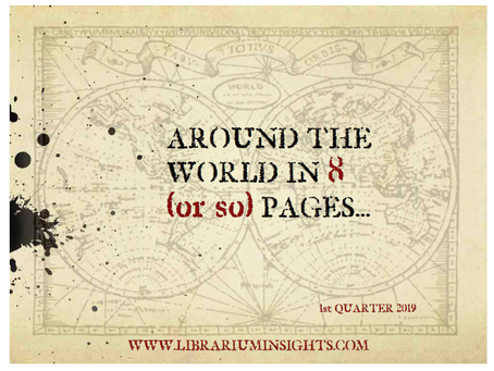 'Around The World In 8(or so) Pages' (ATWI8P)