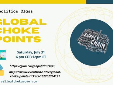 Webinar on Global Choke Points