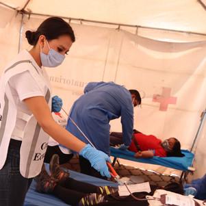 Cruz Roja Ecuatoriana conmemora el día mundial del donante de sangre