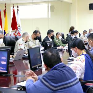 En Imbabura, se instaló el comité provincial de seguridad ciudadana