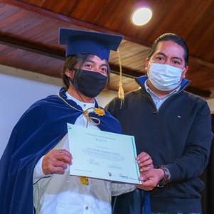 Evento de graduación de promotores agroecológicos se realizó en Otavalo