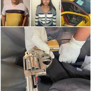 Acción rápida policial detiene a presuntos autores de robo a mano armada en Ibarra