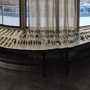 165 armas blancas decomisadas en operativos y patrullajes
