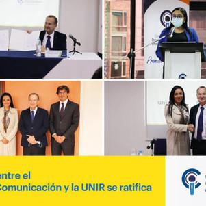 El convenio entre el Consejo de Comunicación y la UNIR se ratifica