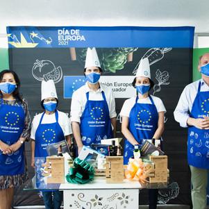 Mes de Europa reunió a aficionados de la cocina sostenible en Ecuador