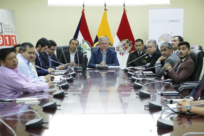 Comité de Seguridad Ciudadana extraordinario se reunió con autoridades del Ministerio del Interior