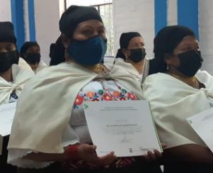 Mujeres de Cotacachi refuerzan conocimientos en prácticas agrícolas sostenibles